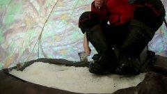Уклейка из подо льда Тысяча поклёвок
