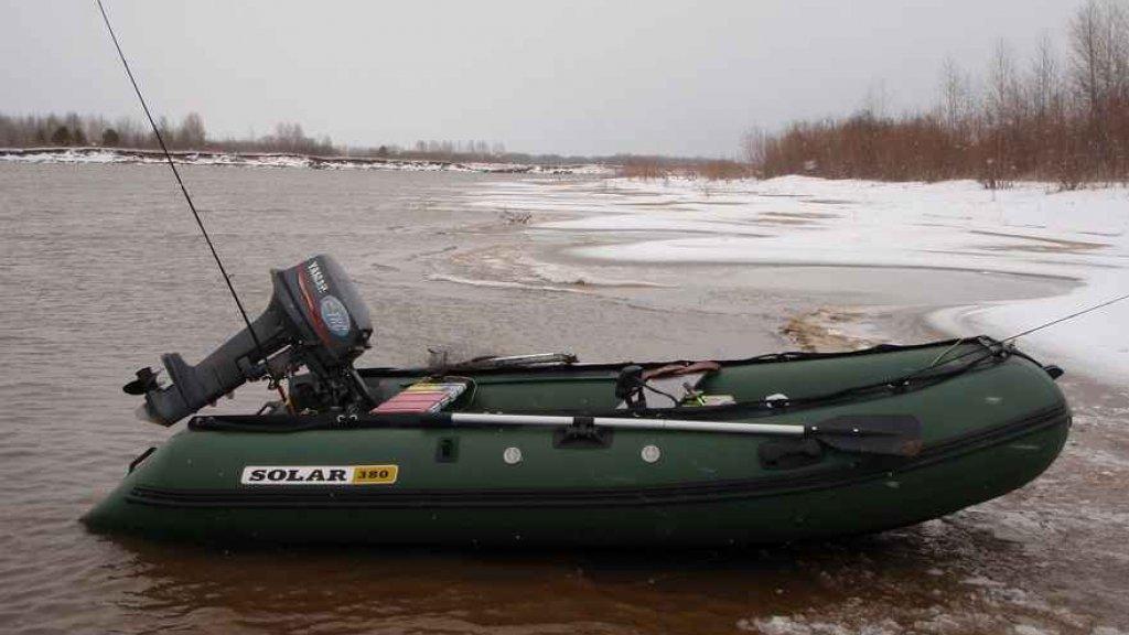 Выход на воду зимой – опасное увлечение