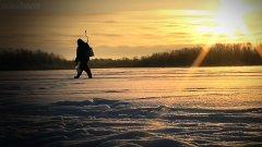 Ловим плотву для жерлиц / мороз и солнце, красота!