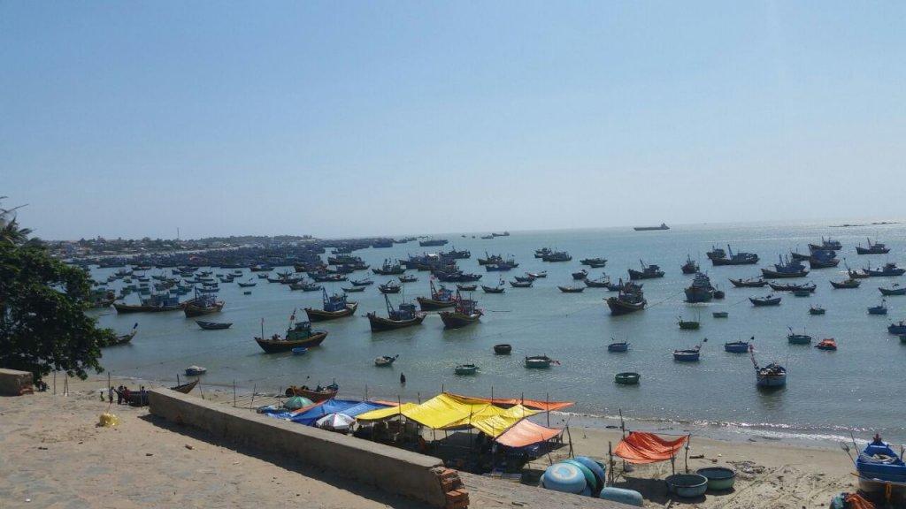 Вьетнам рыбацкая деревня.
