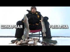 Шикарная рыбалка / второй день на озере с ночевкой