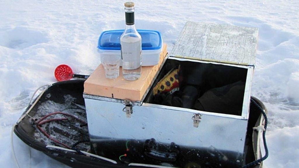 """""""Органайзер"""" для рыбака... Самодельные ящики для зимней рыбалки"""