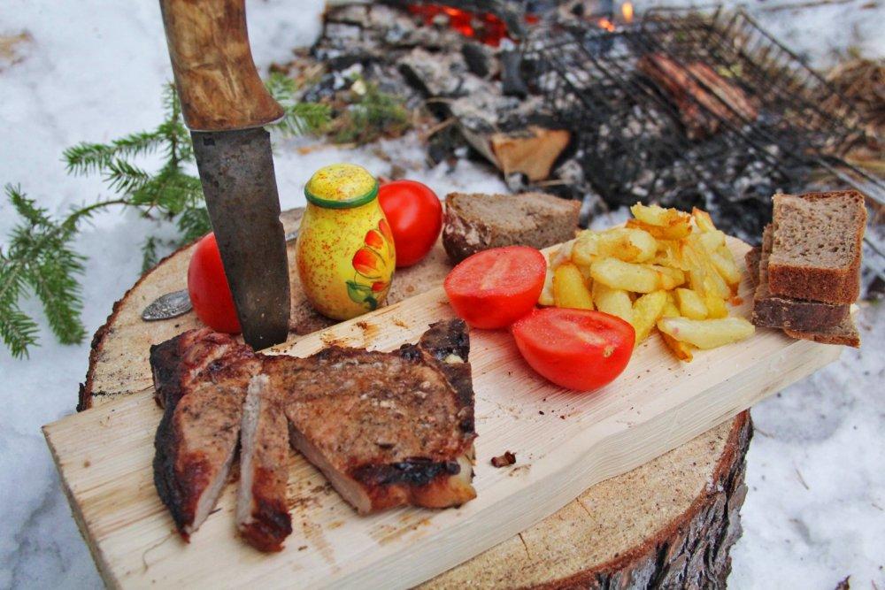 Американская кухня на Хакасских просторах