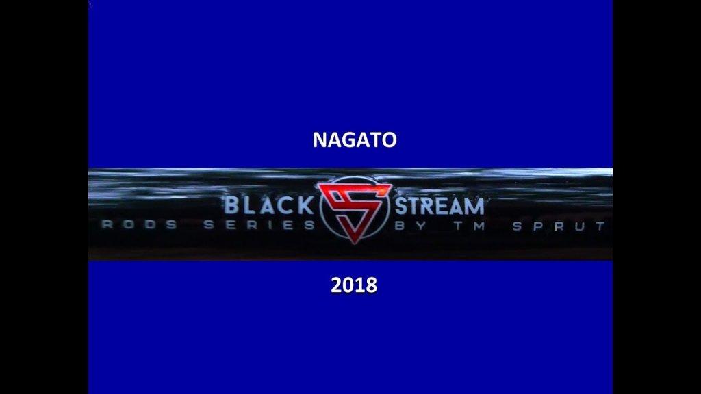 Спиннинги Black Stream Rods Series, модель Nagato.