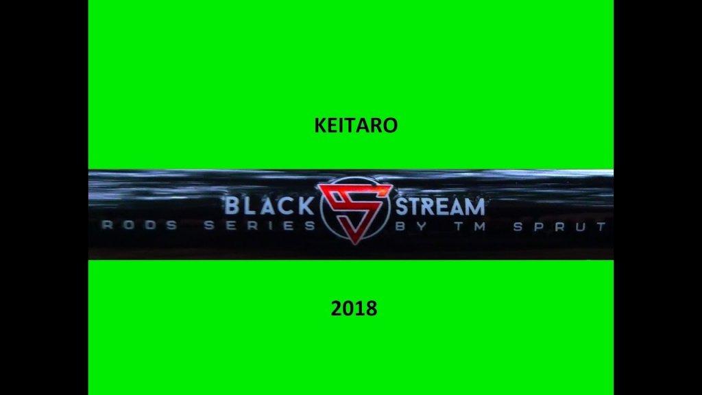 Новые спиннинги  Keitaro Black Stream Rods Series.