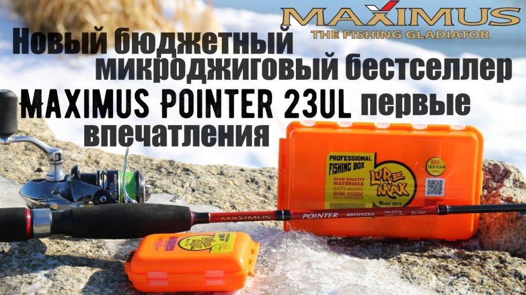 Новый бюджетный микроджиговый бестселлер - Maximus Pointer 23UL. Первые впечатления