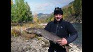 ОХОТА НА ТАЙМЕНЕЙ/Рыбалка на тайменя в Монголии/Часть 1