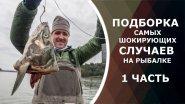 ПОДБОРКА самых ШОКИРУЮЩИХ случаев на рыбалке