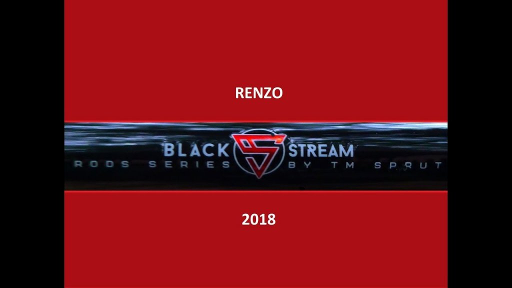 Спиннинг RENZO.  Black Stream Rods Series.