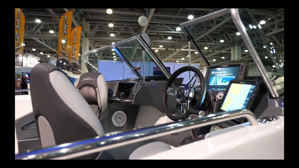 Самая дорогая Российская лодка для рыбалки?    NorthSilver Husky SF 650