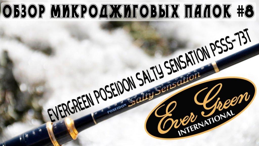 Обзор микроджиговых палок #8 Evergreen Poseidon Salty Sensation PSSS-73T