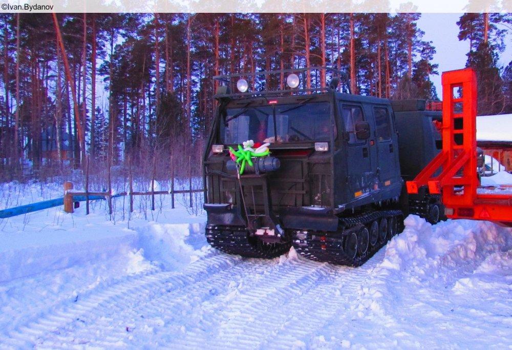 Вездеход BV-206
