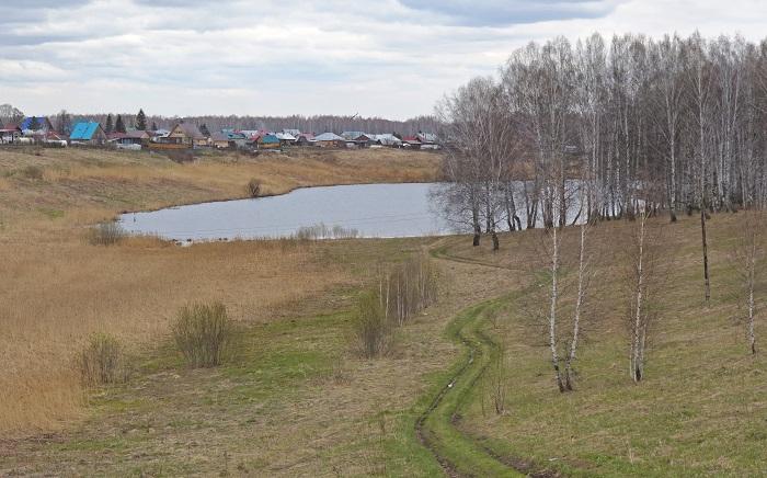 Романовский пруд в Мошково