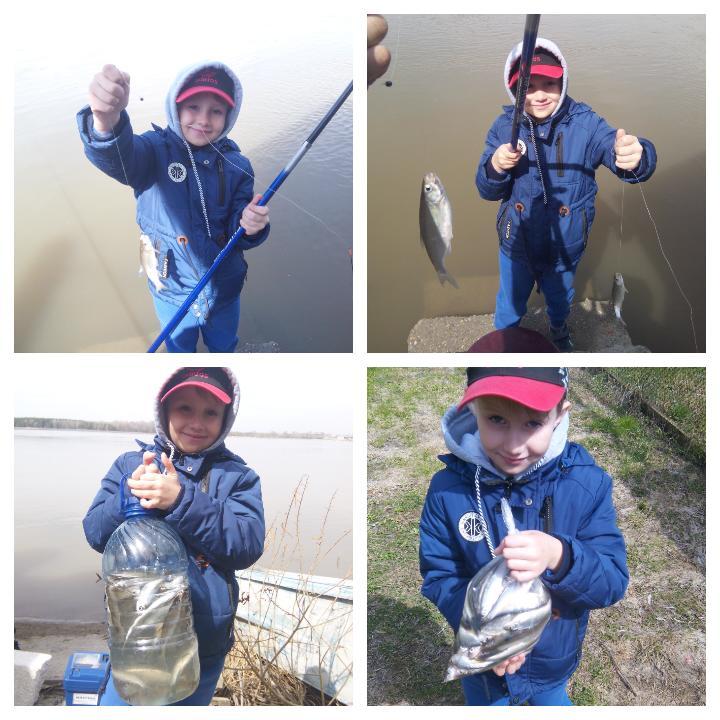 Племянник рыбачёк.