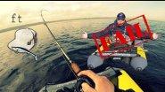 Рыбалка на плотах.Слил трофей.Щука на финском заливе.