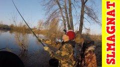Весенняя рыбалка с  ПОПЛАВКОМ! Доступный способ ловли в холодной воде!!![SLMagnat]
