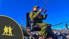 Рыбалка на дамбе Финского залива.  Фидер в сильный ветер