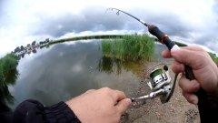 Мы день начинаем с рыбалки! Работа вертушек Mepps по окуню. Утренний клев.