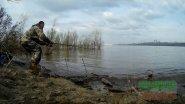 Рыбалка.бешеный клёв язя на удочку