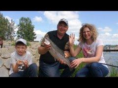 Куда поехать в выходные с семьей отдохнуть и половить рыбу