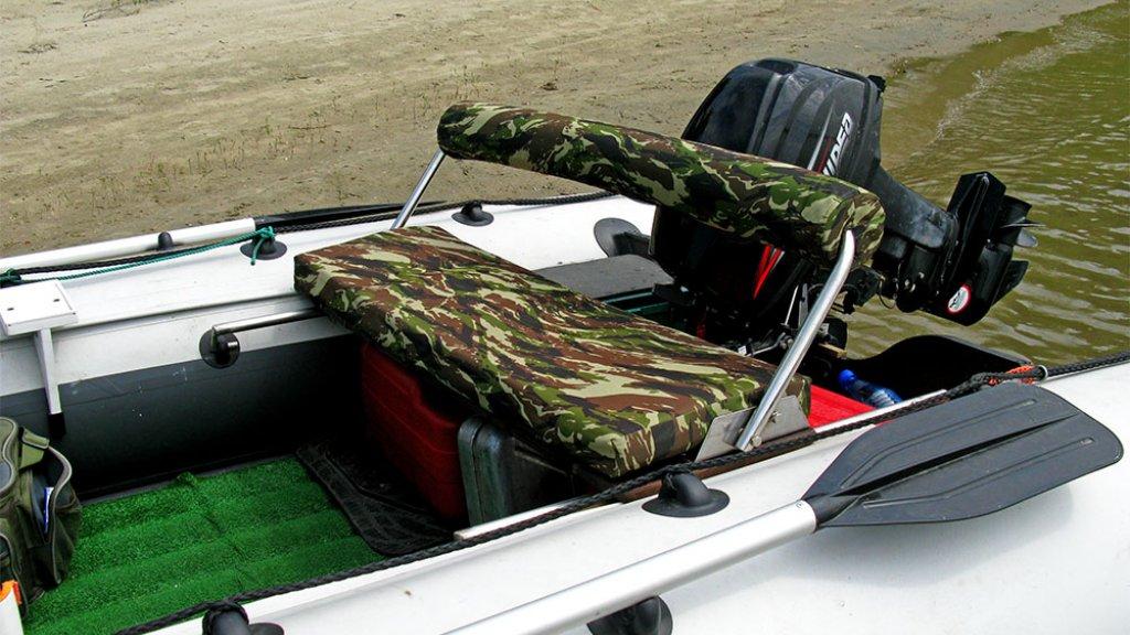 Тюнинг ПВХ лодки своими руками: диван для кэпа