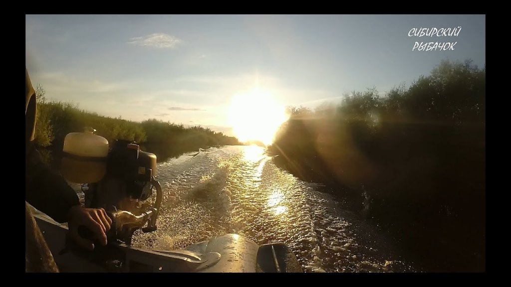 Сплав по реке Чулым / Красивые места / Рыбалка в Сибири
