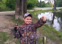 Юный рыбак, новое место.