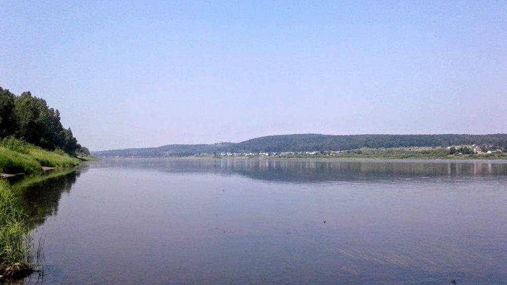 Томь в районе д. Подъяково