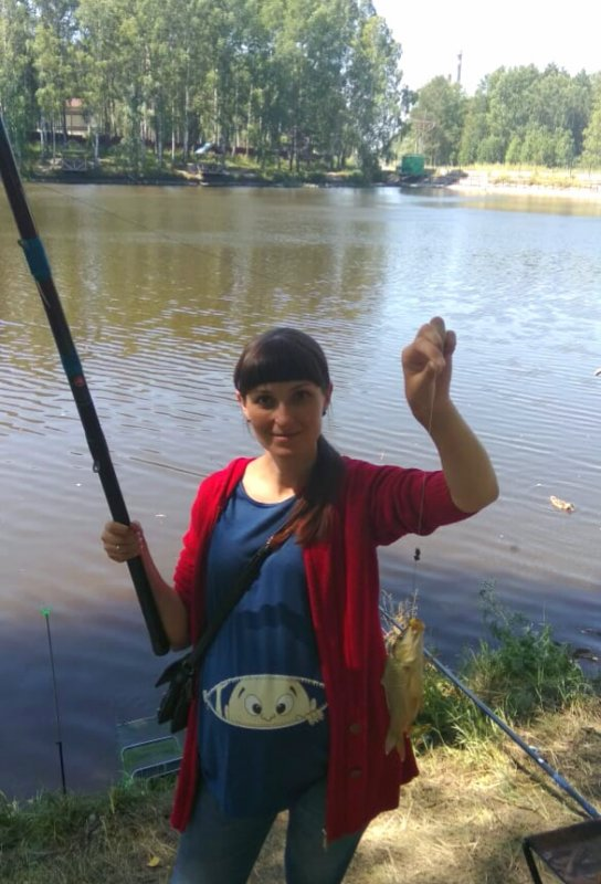 Ловлю момент и карпиков на 9ом месяце))