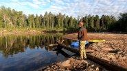 Сплав и рыбалка на реке Кеть, Томская область