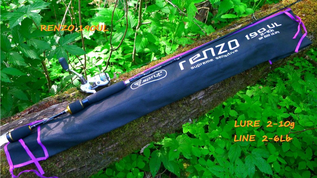 Ультралайтовый лидер летнего сезона - Renzo 190UL.