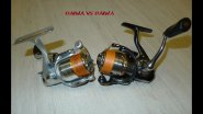 DAIWA Silver Creek-X 1500iA vs 13 Certate 2004.