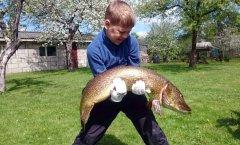 Тот момент, когда пацан поймал ОГРОМНУЮ рыбу, а ты дальше сиди на диване!