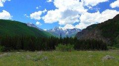 Горный Алтай. На берегу реки Чуя