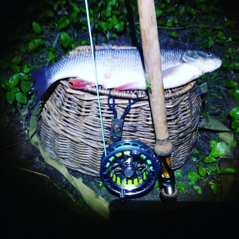 Вечерняя рыбалка.
