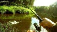 ЗЛЮЩИЕ ПОКЛЕВКИ ЩУКИ / ЧАСТЬ 2 / Забытая таежная река с голодными щуками / МаслаковTV