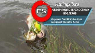Обзор уловистых воблеров от Megabass, Imakatsu, Lucky Craft, Jackall | FishingSib видео