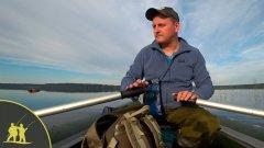 Рыбалка с лодки на озере на бортовую удочку - Уловистая бортовая удочка