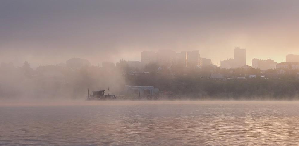 Утро в городе
