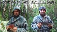 Косим белые грибы / ловим рыбку / братья приходько
