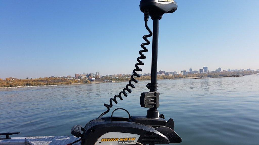 Носовой электромотор с функцией GPS якоря – выбор, обзор и опыт использования на примере Minn Kota Terrova 55 i-Pilot/BT/137 см/12V