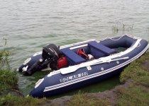 Солар 350 + Hidea 9.8 ... Не яхта конечно, зато своё!