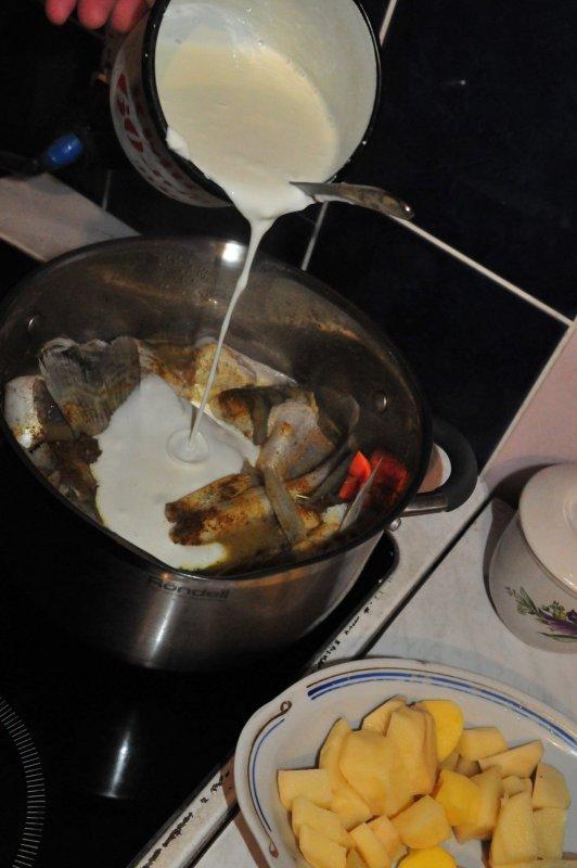 рыбка со сливками