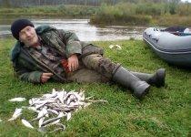 В рыбный день на Ине.