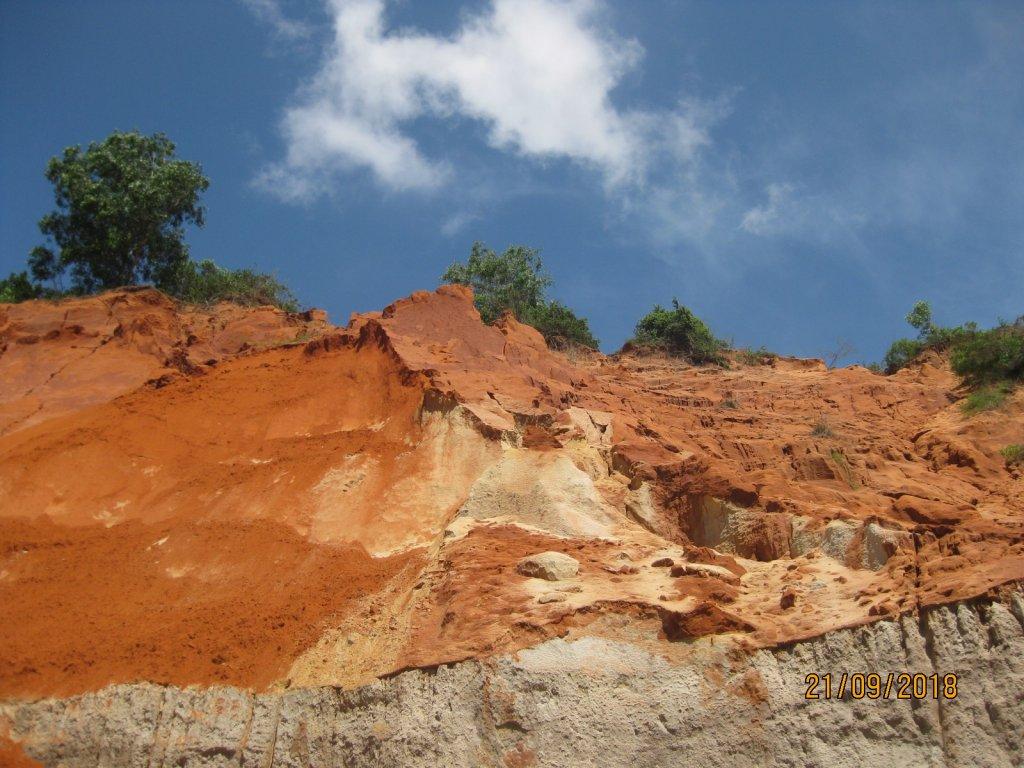 красный песок