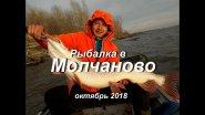 Рыбалка в Молчаново. Октябрь 2018