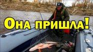 И тут, как попёрло...Здоровенная щука на джиг.. Видео о рыбалке на спиннинг осенью