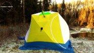 Палатка стэк куб 3 / разделка под дровяную печь / наедине с тайгой