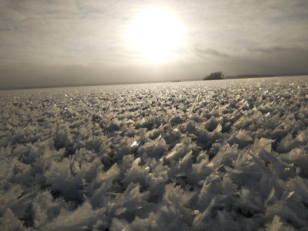 поле непаханное )))
