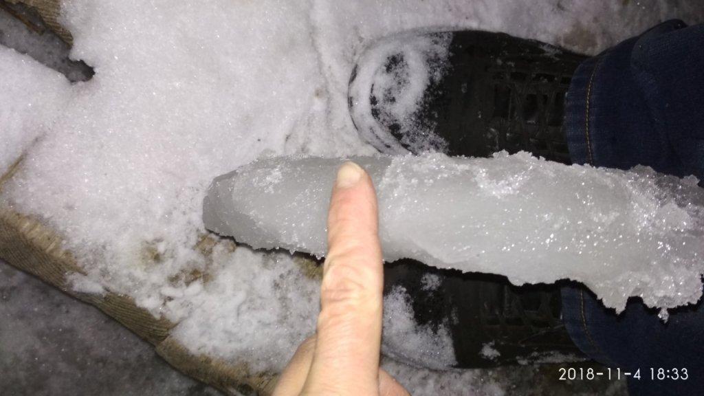 Рановато на лед выходить!!!